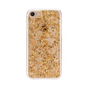 Gold Metal Flake Case iPhone 6